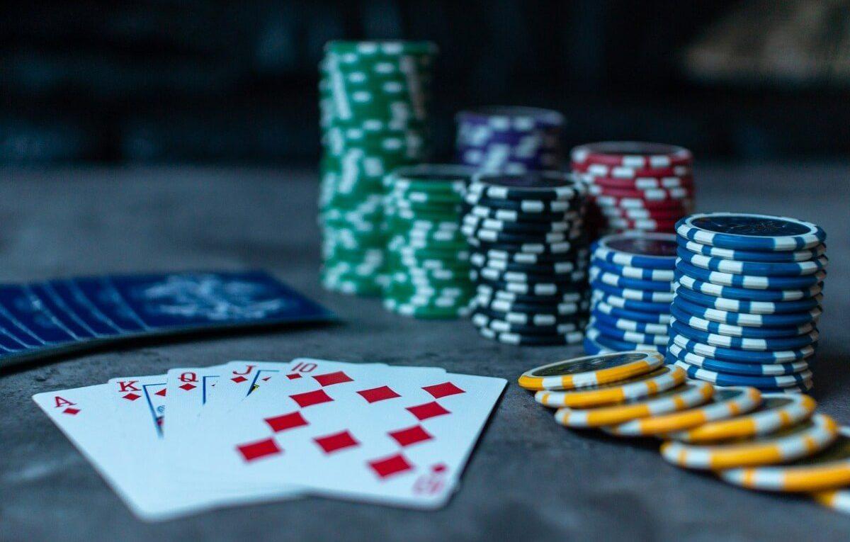 In a casino